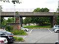 SJ2977 : Railway bridge at Neston by Oliver Dixon
