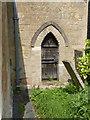 SK6754 : Church of St Michael, Halam - priest's door by Alan Murray-Rust