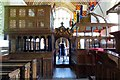 SP6604 : The nave in Rycote Chapel by Steve Daniels
