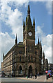 SE1633 : Wool Exchange, Market Street, Bradford by Stephen Richards