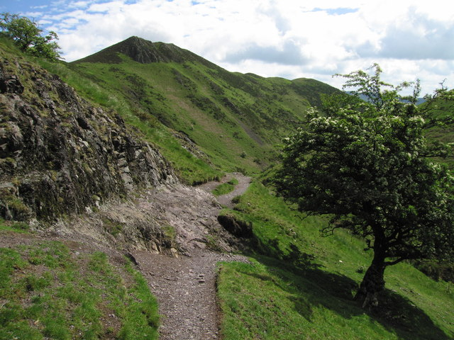 The path into Townbrook Valley