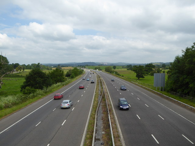 M5 from Bridge Near West Clyst