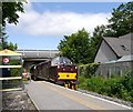 NH5245 : The Royal Scotsman, passing Beauly station : Week 24