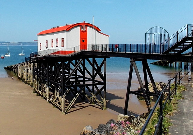 Disused lifeboat station, Tenby