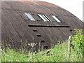 TG1014 : Ex-RAF blister hangar near Green Farm - detail by Evelyn Simak
