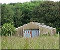 TG1014 : Ex-RAF building at Attlebridge airfield by Evelyn Simak
