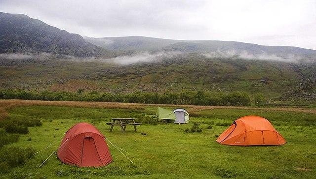 Tents on Little Willams Farm