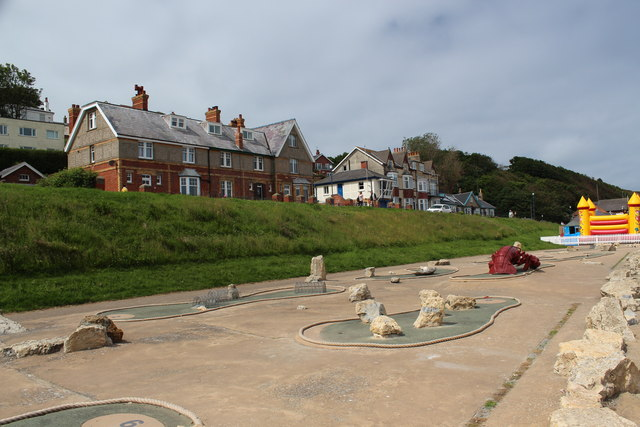 Filey - Seafront (Crazy Golf)