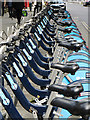TQ3081 : Boris Bikes, Bloomsbury : Week 24