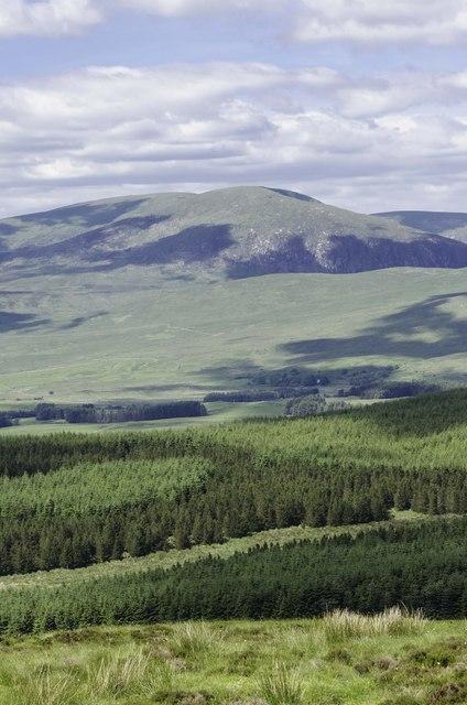 Cambret Hill to Glenquicken Moor