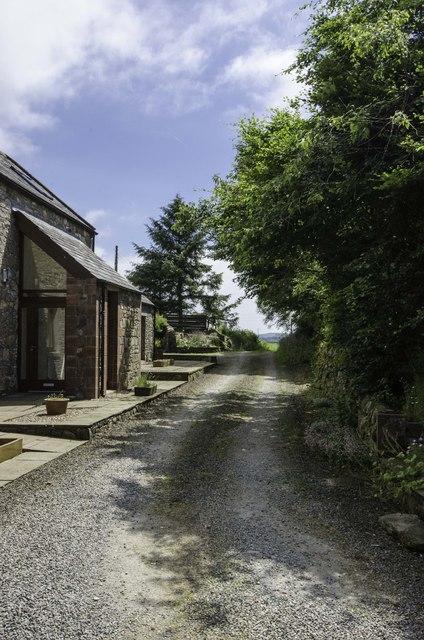 Access Road at Jordieland