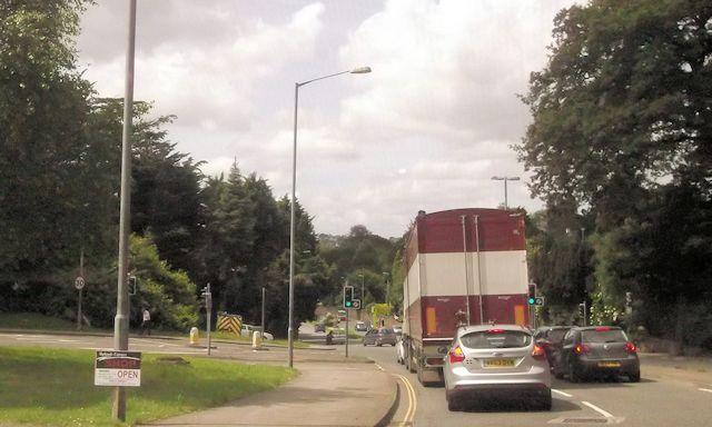 A390 road