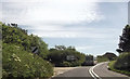 SW5330 : Approaching roundabout near Goldsithney by John Firth