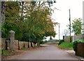SZ0896 : Church Lane, West Parley by nick macneill