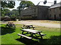 SW6031 : Picnic tables at Godolphin House by David Hawgood