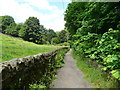 SE0426 : The Luddenden Brook bridleway by Humphrey Bolton