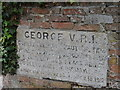 TL6147 : Commemorative stone, All Saints' church, Horseheath by Bikeboy