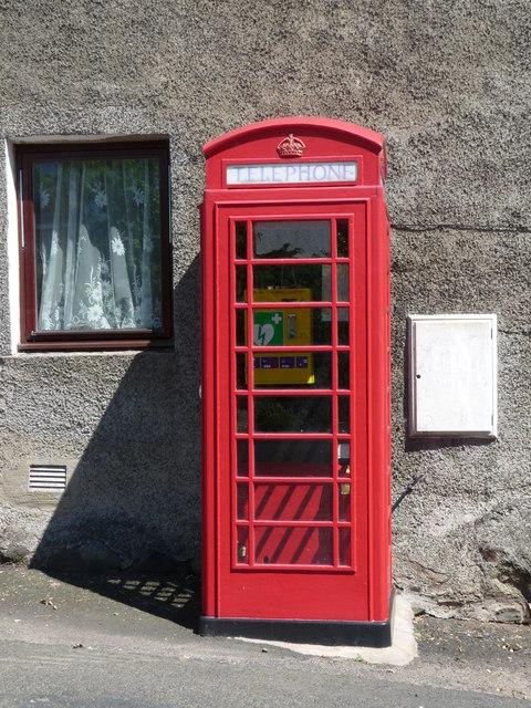 Telephone Box - Auchencrow