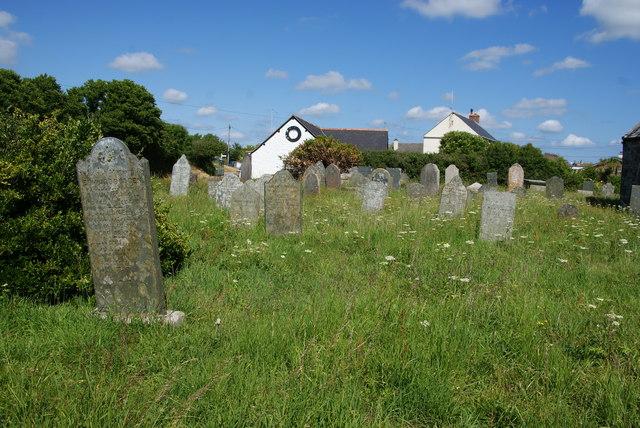 Churchyard of St Corentin, Cury