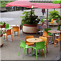 SU4112 : Colourful cafe by Alan Murray-Rust