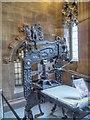 SJ8398 : Columbian Printing Press, John Rylands Library by David Dixon