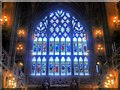 SJ8398 : The Secular Window, John Rylands Library by David Dixon