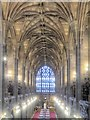 SJ8398 : Vaulted Ceiling, Reading Room at John Rylands Library, Manchester by David Dixon