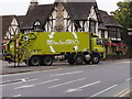 TL1696 : Recycling Lorry at the Gordon Arms public house by Michael Trolove