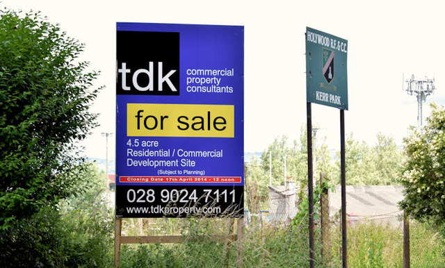 Corflute Real Estate Sign