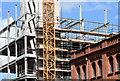"J3374 : Block ""B"", University of Ulster site, Belfast - July 2014(2) by Albert Bridge"