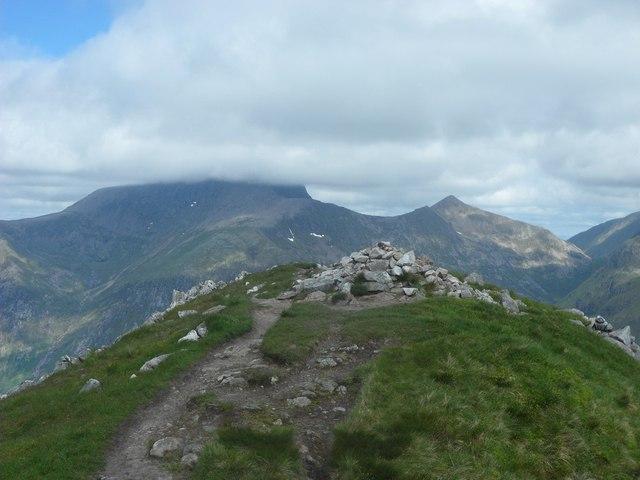 An Gearnach summit, looking north