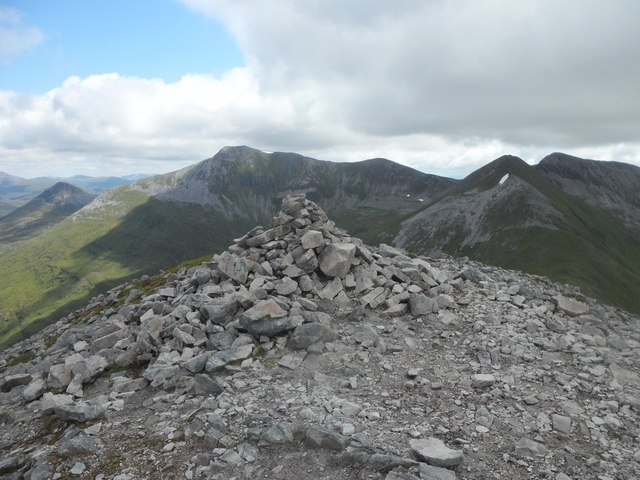 Summit of Stob Coire a' Chairn
