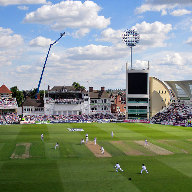 Trent Bridge: a Test Match hundred