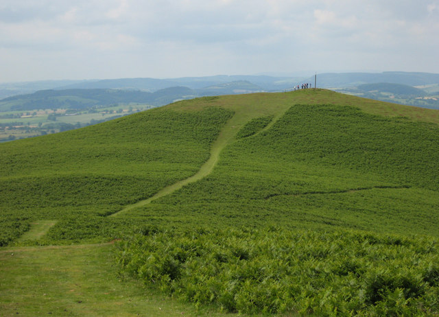 Path on Ragleth Hill