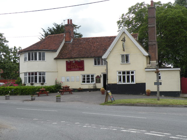 'The White Horse' inn at Finningham