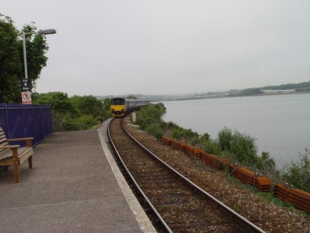 Lelant railway station The Saltings