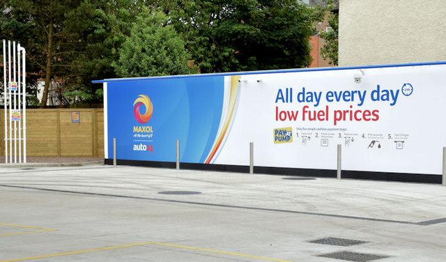 New petrol station, Holywood Road, Belfast - July 2014(2)