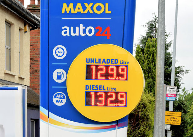 New petrol station, Holywood Road, Belfast - July 2014(3)