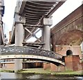 SJ8397 : Bridges at Castlefield by Flying Stag