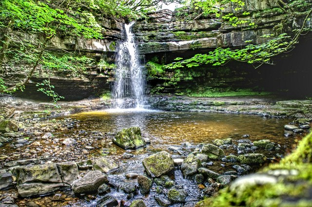 Gibson Cave and Summerhill Waterfall