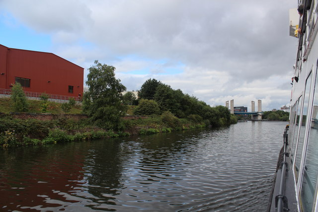 Manchester Ship Canal passing by Coronet Way