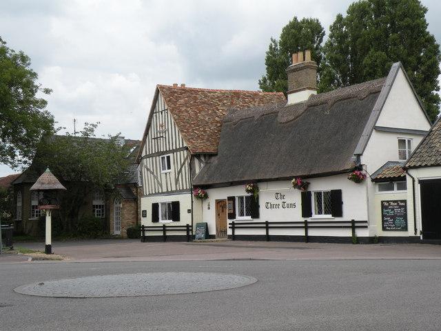 'The Three Tuns' inn at Fen Drayton