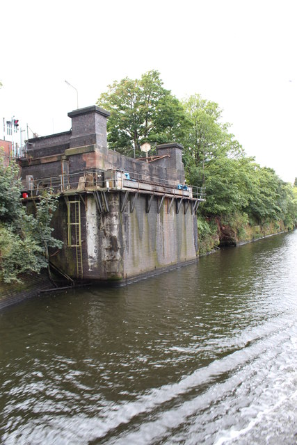 Manchester Ship Canal - Knutsford Road Swing Bridge