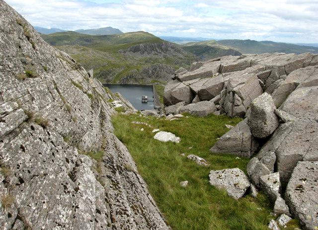 Rocks on Moelwyn Bach