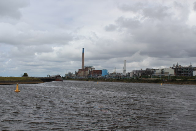 Manchester Ship Canal - Chemical Works