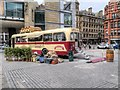 "SJ8397 : Great Northern Square, ""Rum Bus"" by David Dixon"
