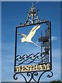 TQ6404 : Westham sign : Week 28