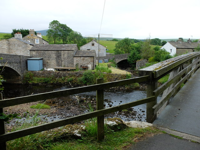Three bridges at Horton in Ribblesdale