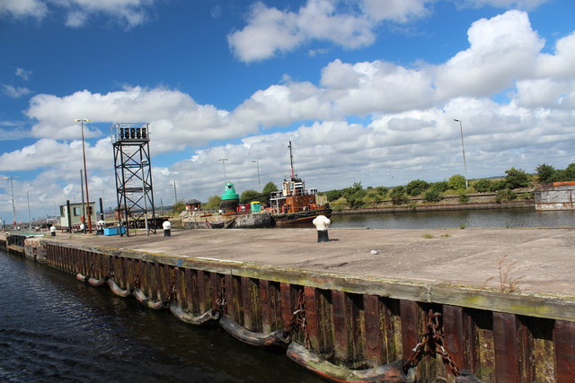 Manchester Ship Canal - Eastham Locks