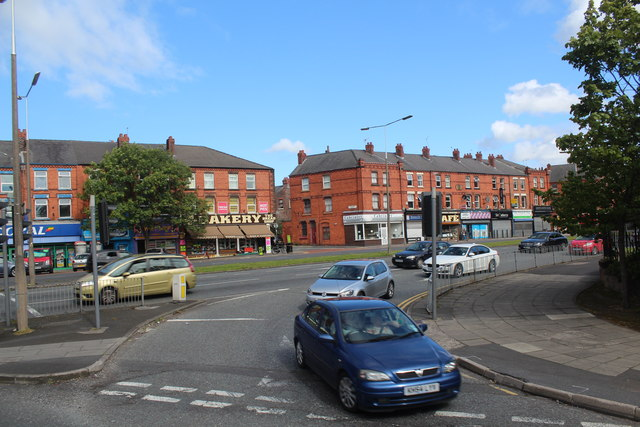 Liverpool - Junction of Jericho Lane and Aigburth Road